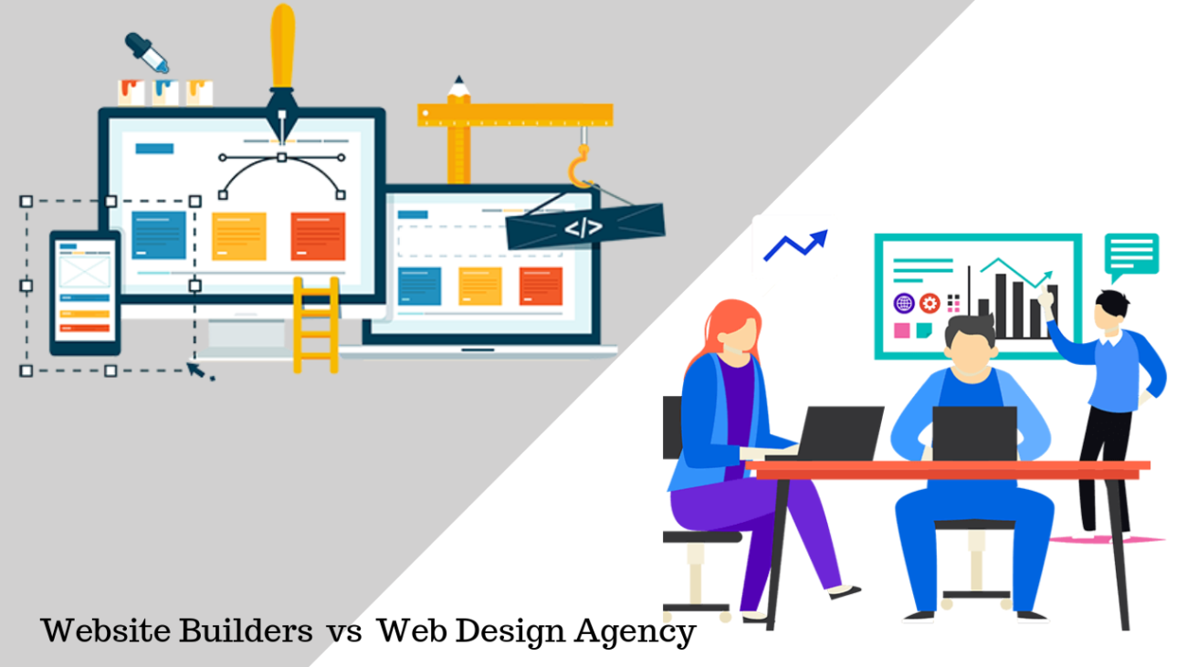 DIY website builders vs web design agency