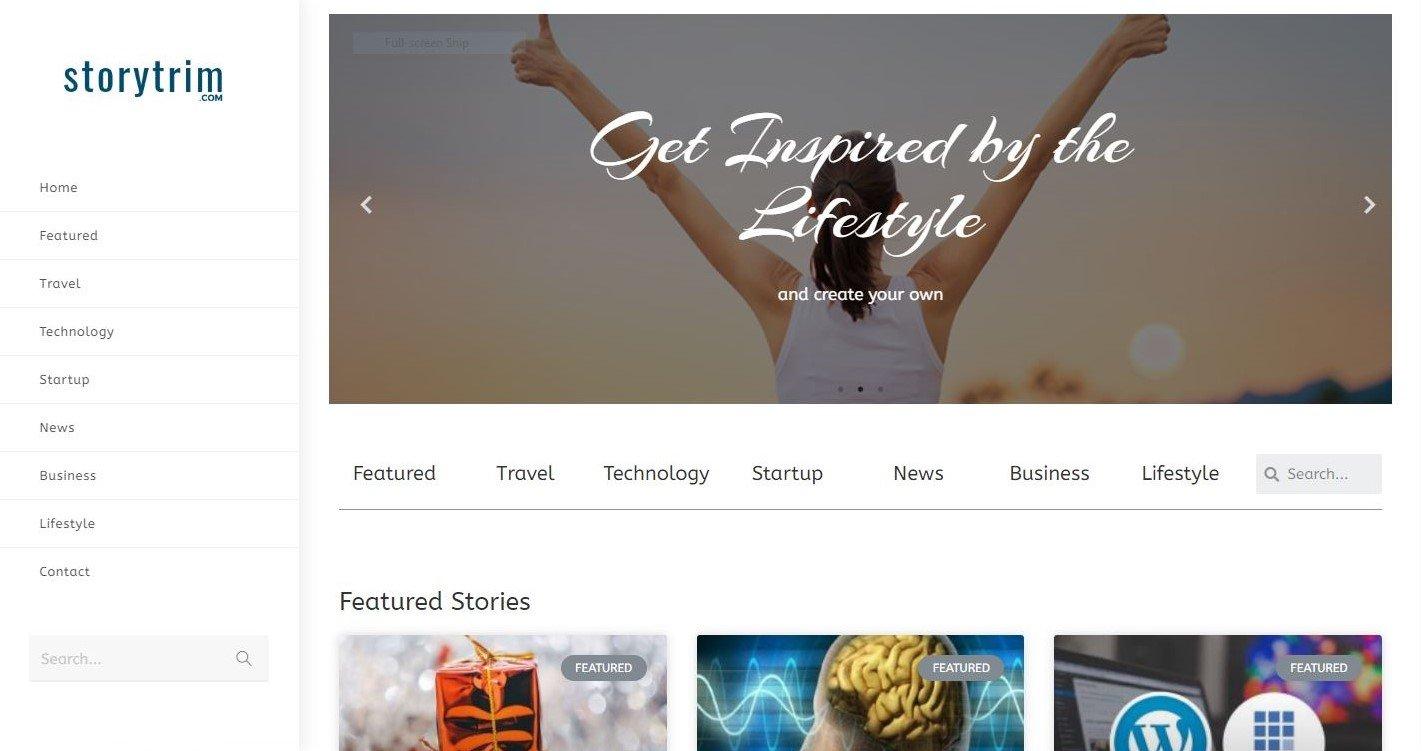 storytrim content curation website