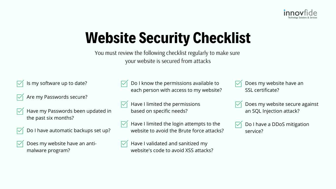 How to protect website from being hacked