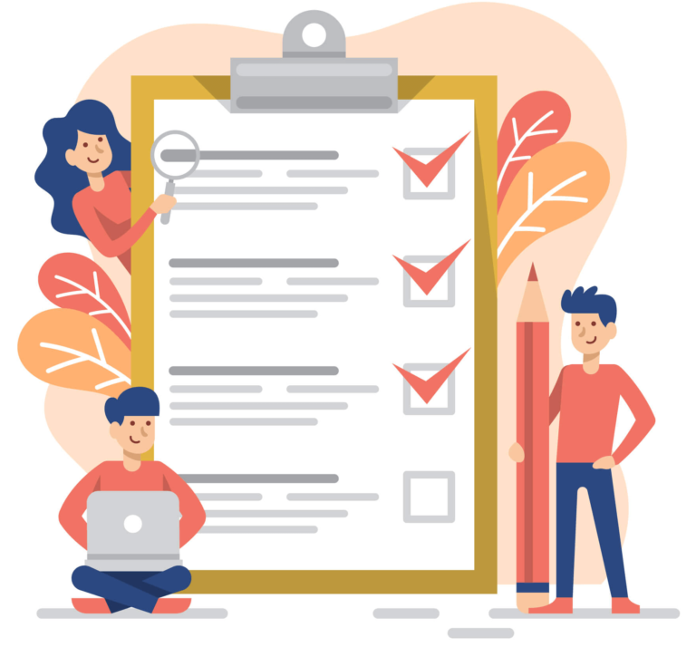 detailed checklist to perform before going for a mobile app